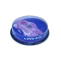 Wholesale 10 Verbatim Blank DVD Disks X DVD R DL GB Dual Layer Printable QQTSM0954