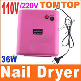 Wholesale 36W V V Nail Art UV Lamp Gel Curing Tube Light Pink Dryer with Lamp Tubes set