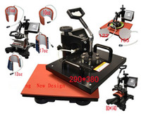 Wholesale Advanced NEW DESIGN IN Tshirt Mug Cap Plate Combo heat press machine Heat press Sublimation machine Press machine Heat transfer machine