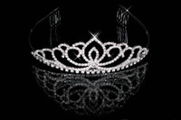 Wholesale 18 New Bridal Rhinestone Crystal Prom Crown Bridal Tiaras amp Hair Accessories