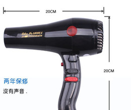 Wholesale ZF1800 Hair Dryers with gift tuyeres comb Tuyere retail box by DHL OR EMS hair dryer