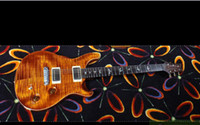Wholesale best china guitar Newest NEW MODERN EAGLE II YELLOW TIGER SOLID ROSEWOOD NECK WOW OEM Musical