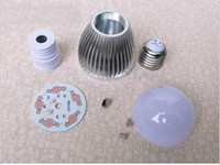 Wholesale 5W high power LED Bulb Accessory DIY LED Lamp Parts kit E27