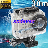 Wholesale SDV Full HD P Waterproof Mega Pixels Sports DV Camera Skiing Surfing Meters Waterp