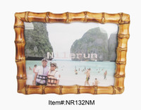 Wholesale bamboo root picture frame for x7 inch