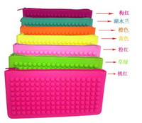 Wholesale 10 Rubber Pouch Purse Wallet Cellphone Cosmetic Coin Bag