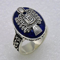 Band Rings african american plays - Vampire Diary Damon America play retro rings Fashion finger Ring New Arrival jewelry