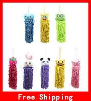 Wholesale Hot selling Superfine Fiber High Quality Lovely Strong Bibulous Animal Head Hand Towel