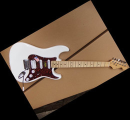 New Arrival STR Model Electric Guitar White VOS 110215