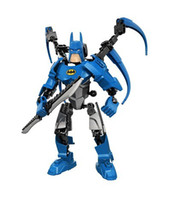 Wholesale Avengers super heroes Ultrabuild Batman Assembling building blocks bricks Puzzle toys