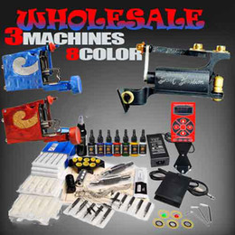 Wholesale Tattoo Kit Top Rotary Tattoo Machines Ink hurricane Power Supply Equipment DIY