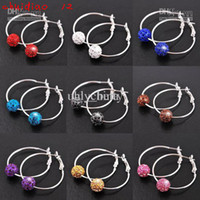 Wholesale 9 colors pairs Dangle amp Chandelier earrings Jewelry charm earrings Hoop amp Huggie chuidiao