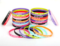 Wholesale 40pcs Hot Justin Bieber mm designs Mix Wristbands I Love JB Fashion Bracelets Bangles Christmas