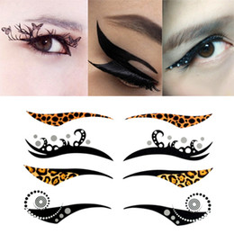 Wholesale 200Pairs Instant Eye Shadow Sticker Colourful Body Art Party Eye Liner Temporary Tattoo Stickers