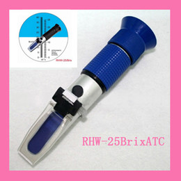 Wholesale Hand Held Refractometer Beer brewing Refraktometer Brix Blue Grip RHW Brix ATC