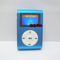 best free books - best price Mini clip mp3 player with card slot with screen support g g g tf card colors by dhl