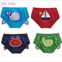 Boy Swim Trunks 12-18 Months Nissen Baby Swimming Trunks Cartoon Boys Beachwear Swimtrunks Baby swimwear A689