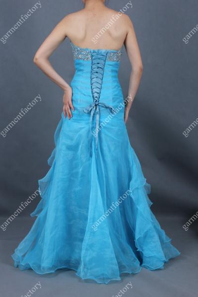 Ice Blue Mermaid Dress