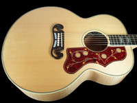 acoustic electric guitar - best china guitar STANDARD SUPER JUMBO ACOUSTIC ELECTRIC NATURAL OEM Musical Instruments