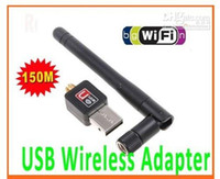 Wholesale Mini M USB WiFi Wireless Network Card n g b LAN Adapter with Antenna