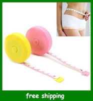 Wholesale Mini Retractable Tape Measure Convenient Home tool clothing size Soft feet gifts fast