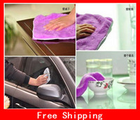 Wholesale Microfiber Cleaning Cloth Kitchen Towels Wiping Dust Rags Magic Quick Dry Dish Cloth Product