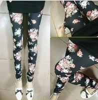 Mid best slimming tights - Best Sale Cheap Many Style Fashion Floral Sexy Lady Slim Tights Leggings Skinny Pants MOQ Mix