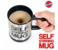10pcs lot Automatic Stainless Steel Self Stirring Mug Coffee...