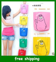 Wholesale Hot door back Pockets Wall Hanging Storage Bag container box holder color gifts fast