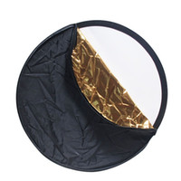 Wholesale 43 quot CM Portable in Collapsible Round Multi Disc Light Reflector for photo Studio or any Photo