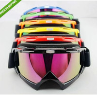 Wholesale Ski Snowboard Snowmobile Motorcycle Goggles Off Road Eyewear Colour Lens T815