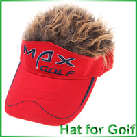 Wholesale Portable Golf Hair Visor Golf Hair Hat Golfing Accessories
