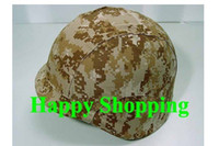 airsoft helmet cover - Digital Desert Camo airsoft PASGT M88 Helmet Durable cloth Protection Cover