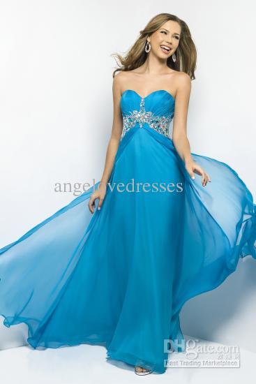 Caribbean Blue Dresses