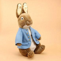 Wholesale childrens baby s adults gift peter rabbit easter bunny plush toys christmas easter s toys gift