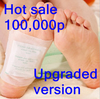 Wholesale Korea New Detox Foot Pad Patch amp Adhesive Plant massage make beauty and health Q8801