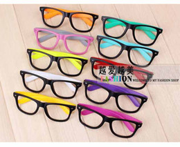 Wholesale Hot sale Multicolors Eyeglass Frames Cheap Eyewear Wayfarer Frame No Lens