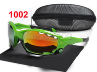 Wholesale 10pairs Brand Mens Sports Cheap Sunglasses Designer Glasses Eyewear For Men Discount Green Black