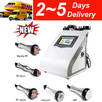 Wholesale New k Cavitation RF Radio Frequency Vacuum Bipolar Tripolar Laser Slim Machine v8