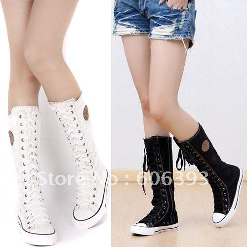 Women's Fashion Boots Cheap Canvas Boots Fashion Women