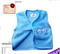 18-24 Months baby Male or female Christmas promotion make popularity qiu dong coral cotton open chest buckle baby ma3 jia3 cardigan w