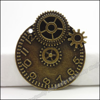 bell charm - Charm Gear Bell Pendant Antique bronze Alloy Fit Bracelet amp Necklace DIY Metal Jewelry