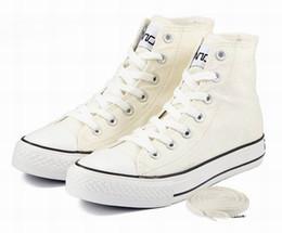 Wholesale Canvas shoes Lovers Shoes Men and women to shoes fashion pure color plimsolls movement leisure XC414