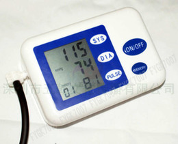 Wholesale 2016 new Blood pressure monitor The genuine household automatic electronic sphygmomanometer blood pressure instrument hypertension