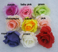 Wholesale HOT p cm Mixed Order Artificial Silk Simulation Flower Heads Peony Rose Floral Decorations