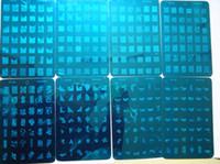 Nail Art Stamping Plate nail art stamp - NEW Design XL Medium Size Stamp Stamping Image Plate Print Nail Art Large BIG Template