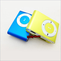 100pcs metal clip mini clip mp3 player with TF slot No memor...