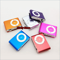 DHL Free 500pcs mini clip mp3 metal clip mp3 player with TF ...