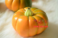 artificial pumpkin - Lovely Simulation Mini Pumpkin Plastic Pumpkin Artificial vegetable home garden Decor