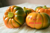 Wholesale Lovely Mini Pumpkin Plastic Pumpkin Artificial vegetable home garden Decor